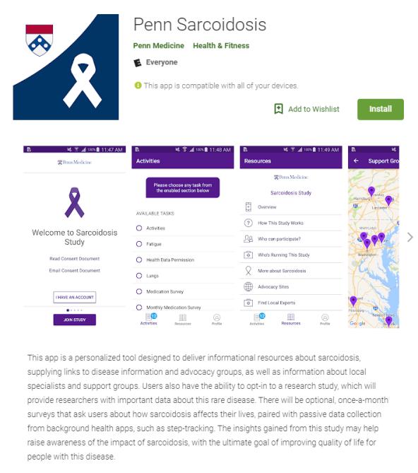 07312018 Sarcoidosis App