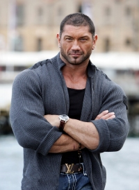 SYDNEY, AUSTRALIA - MAY 23: (EXCLUSIVE) WWE Wrestler Batista poses for a portrait session ahead of the start of the WWE 5-day Australia Tour which starts on June 13 in Melbourne, at XXXX on May 23, 2008 in Sydney, Australia. (Photo by Don Arnold/WireImage)